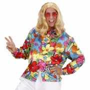 Fel gekleurd hippie shirt