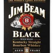 Jim Beam bourbon muurplaat