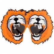 Holland leeuwen bril oranje