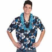 Blauw Hawaii shirt voor heren