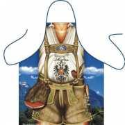 Funny BBQ schorten Tiroler