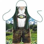 Funny BBQ schorten Bavarian Man