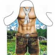 BBQ schorten Trendy Alpen man