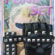 Verkleedkleding punker accessoires