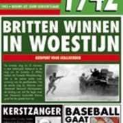 Verjaardag kaart met nieuws uit 1942
