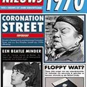 Verjaardag kaart met nieuws uit 1970