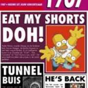 Verjaardag kaart met nieuws uit 1987