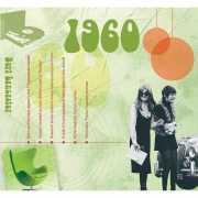 Verjaardagskaart met muziekhits uit 1960