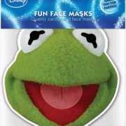 Kartonnen masker Kermit