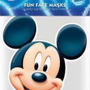 Kartonnen masker Mickey Mouse