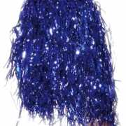 Cheerleader pompoms blauw