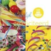 Gekleurde verjaardagsgeldkaart