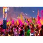 Paars kleurenpoeder kanon