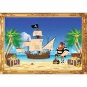 Piraten poster roodbaard