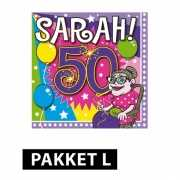 Feestartikelen Sarah pakket Large