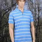 Gestreepts blauw poloshirts