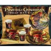 Uitnodigingen piraat