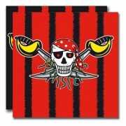 Thema piraat servetten