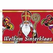Sinterklaas welkomst vlag