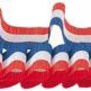 Nederland crepe sierlinten 3 stuks
