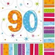 Servetten voor een 90 jaar feestje