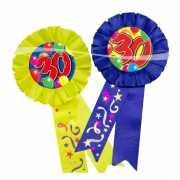 Verjaardags rozet 30 jaar