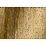 Wallpaper van bamboe