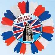 Waaier Engeland decoratie