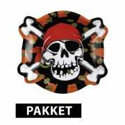 Pakket piraten feestartikelen