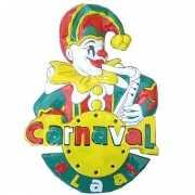 Carnaval wanddekoratie Alaaf