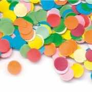 Carnavals confetti gekleurd 200 gr