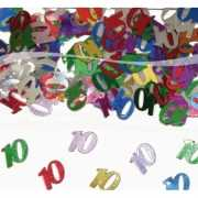 Feest confetti 10 jaar