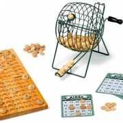 Houten bingo spel luxe versie