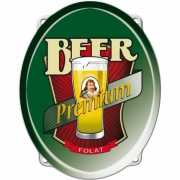 Deurborden versiering bier 42 cm