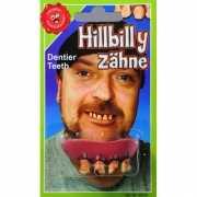 Rotten tanden gebit boven tanden
