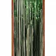 Groen folie deurgordijn