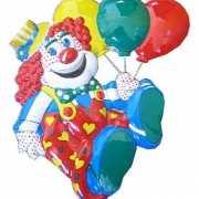 Clowns decoratie met ballonnen