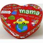 Hartjes koektrommel voor mama