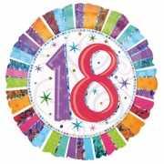 Verjaardagsballon 18 jaar helium