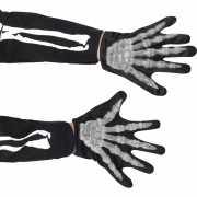 Kinder handschoen skeletten handen