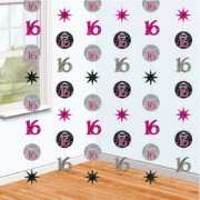 Hangdecoratie sweet sixteen