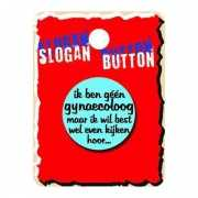 Slogan button gynaecoloog