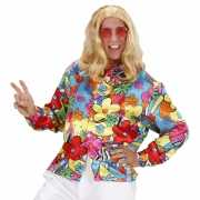 Flower Power shirt gekleurd