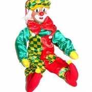 Plastic clown wanddecoratie 50 cm