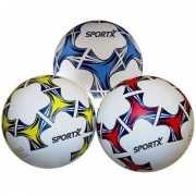 Voetbal zwart wit van rubber