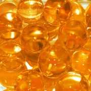 Aquarium parels oranje 2 cm