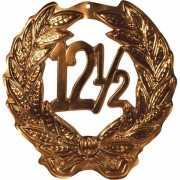 12,5 jubileum huldebord kleur brons