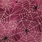 Halloween spinnenweb stof per meter