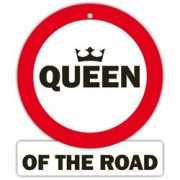 Auto stopbord Queen of  the road