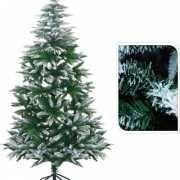 Kerstboom met witte takjes 180 cm